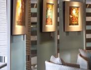Semi-permanent installation available for artists, Hotel Juliani, Malta